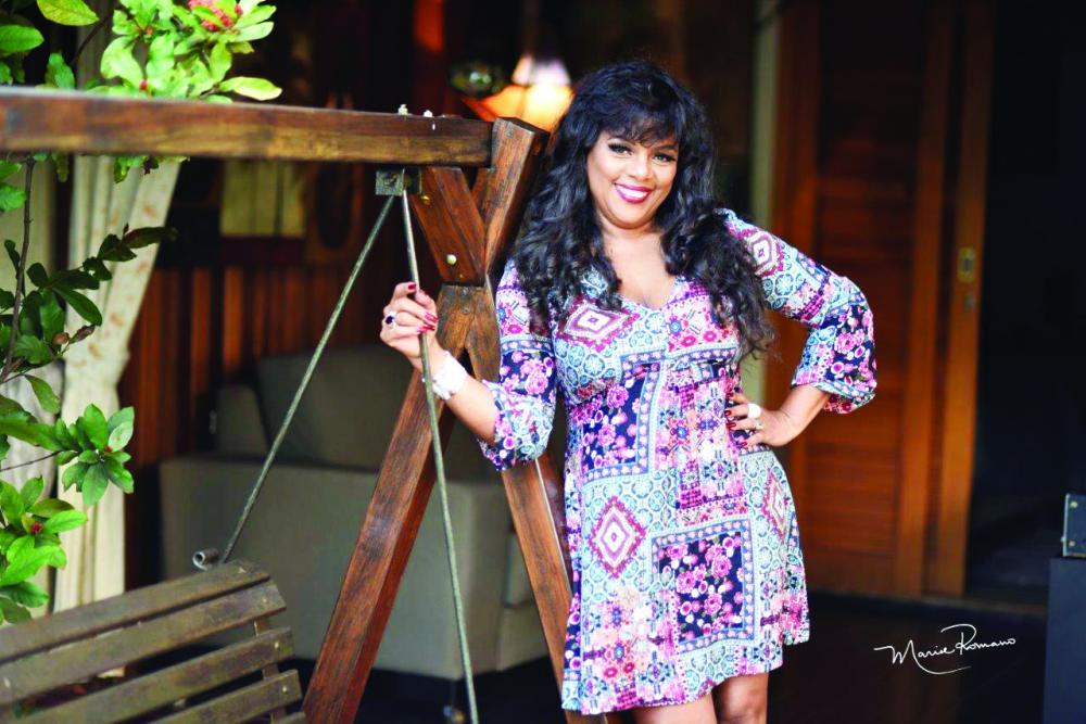 Alzineusa Amaral fez aniversário no dia 4 de março e ganhou reunião surpresa de familiares e amigos