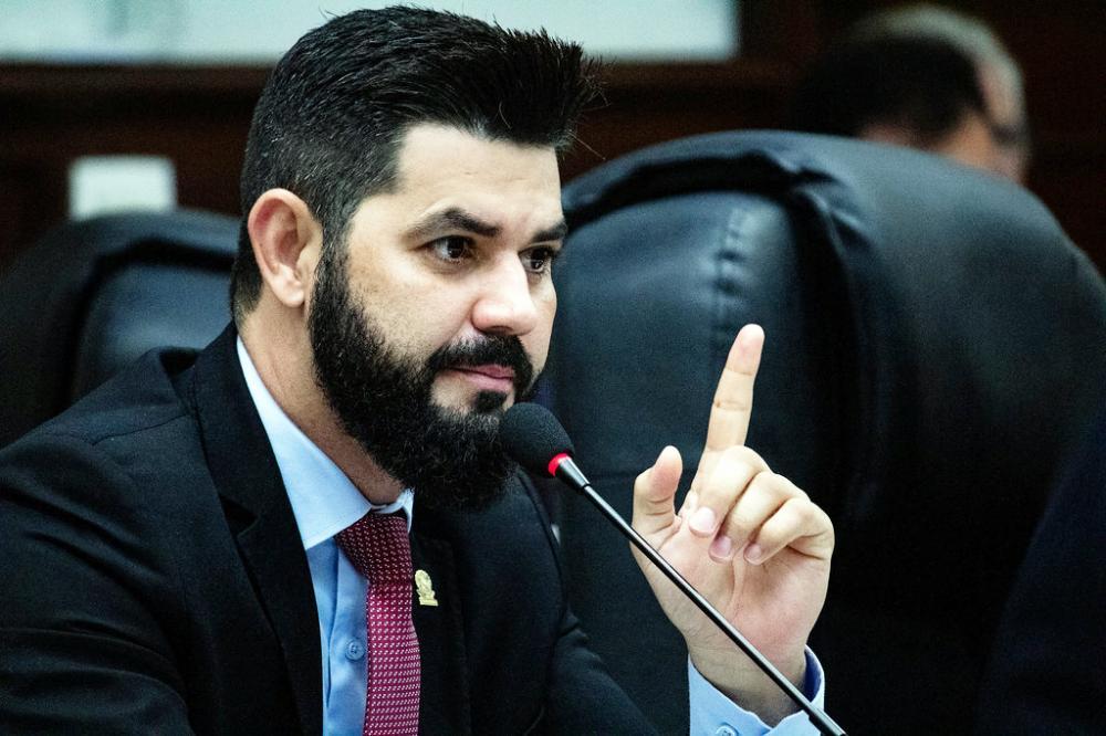 O vereador Kaká Carneiro pré-candidato a prefeito sem partido - FOTO: Rodrigo Garcia/CMU