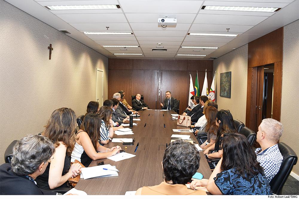 O juiz auxiliar da Presidência, Luiz Carlos Rezende e Santos, apresentou providências pensadas para proteger a população prisional - Foto: Divulgação