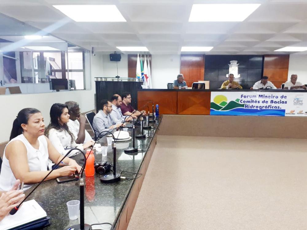 Prefeitura de Uberaba participa do Fórum Mineiro de Comitês de Bacias Hidrográficas