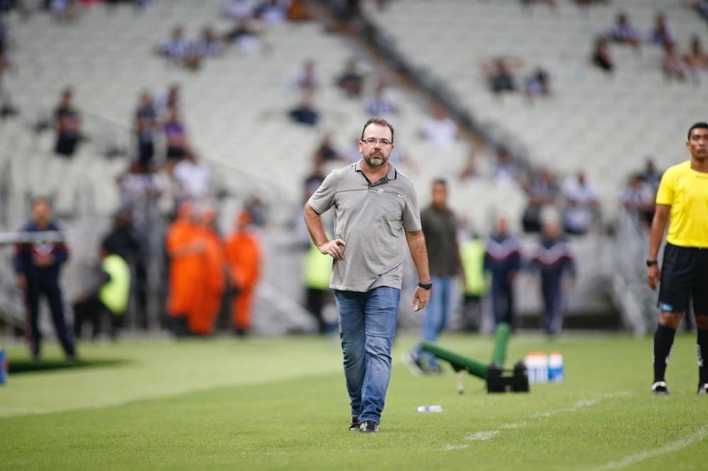 Técnico Enderson Moreira e o Cruzeiro acertam os últimos detalhes para o anúncio oficial do treinador - Foto: Thiago Gadelha/SVM