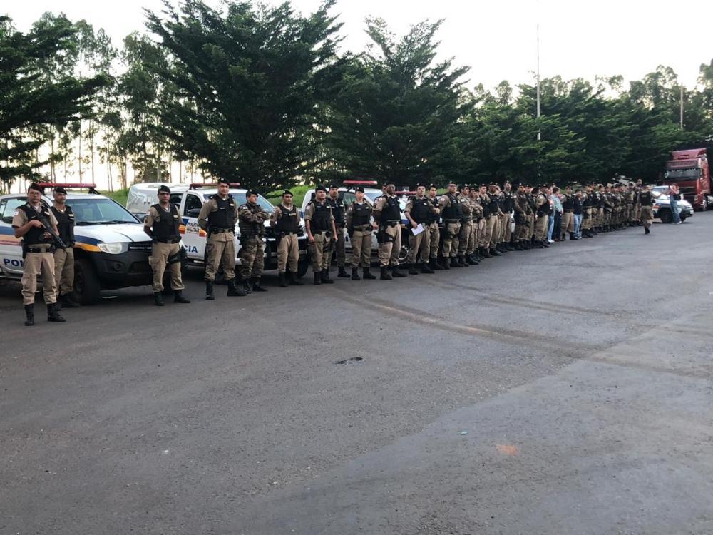 Operação movimentou Polícia Penal, agentes da Receita Estadual, do Gaeco, Policiais Militares e Ministério Público - Foto: Divulgação