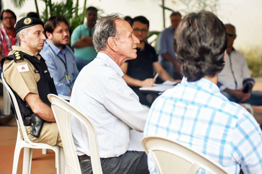 Prefeito Paulo Piau reúne com Comitê Técnico e o Grupo Estratégico de Gerenciamento de Risco para atualização de informações sobre o coronavírus - Covid-19 - Foto: André Santos/PMU