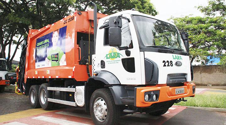 A coleta de lixo está mantida na sua normalidade - Foto: Divulgação/PMU