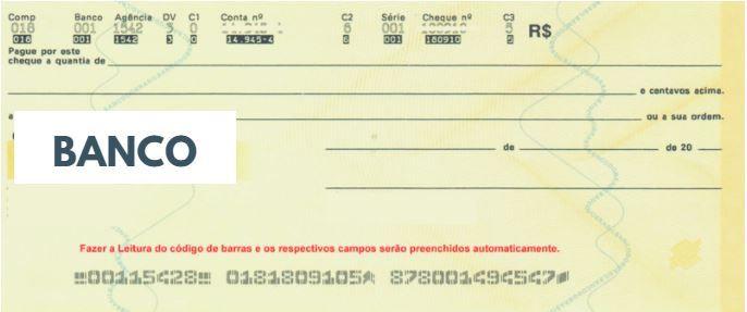 Cliente tentou depositar cheque em conta pessoal e acabou sofrendo um golpe