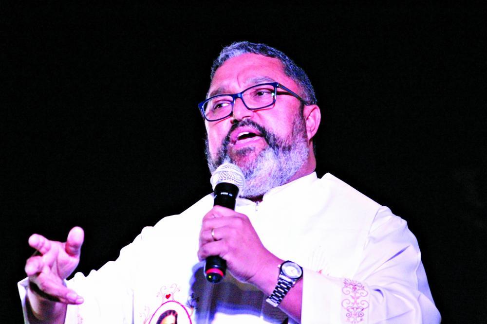 Foi um tempo de graça para o povo de Uberaba, diz padre Alex