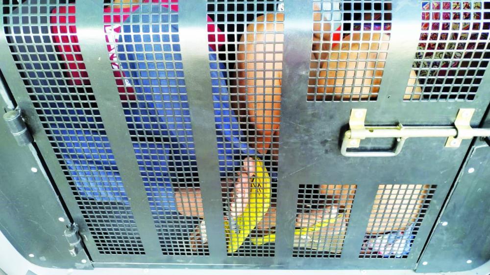 Vítima foi socorrida pelos bombeiros após o crime: Acusados foram presos pela PM