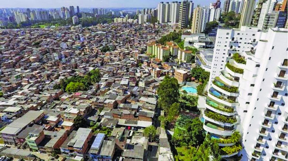 Segundo estudo, Brasil vive o mais longo aumento contínuo da concentração de renda já registrado; Desigualdade social prejudica desempenho do Brasil em ranking da ONU