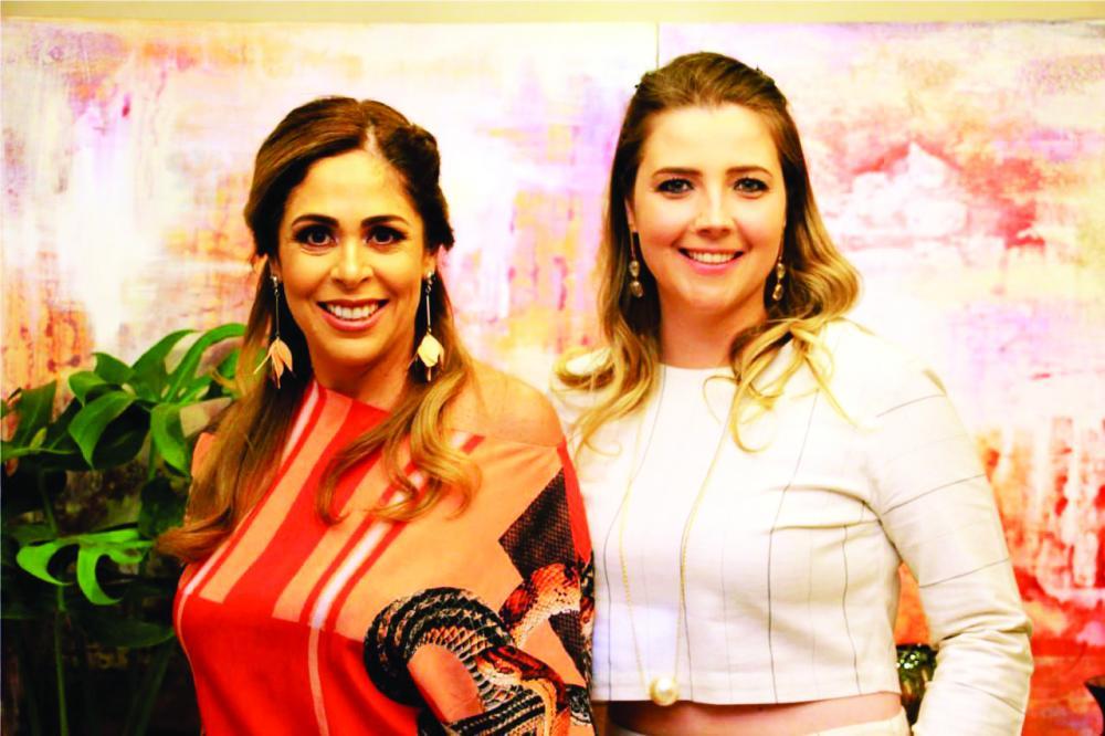 As anfitriãs Renata Prata e Laysa Zago