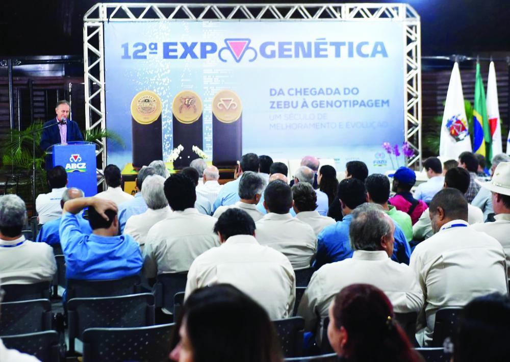 Prefeito Paulo Piau destacou o centenário da ABCZ e o bicentenário de Uberaba
