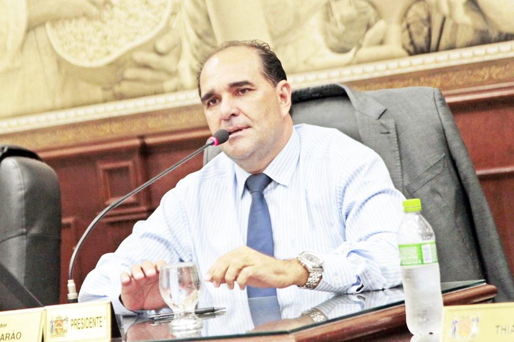 O presidente da Câmara vereador Ismar Marão já está de olho nas Eleições de 2022 - Foto: Rodrigo Garcia/CMU