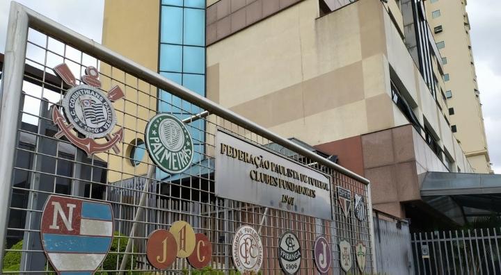 Sede da Federação Paulista de Futebol, em São Paulo - Foto: Gazeta Press