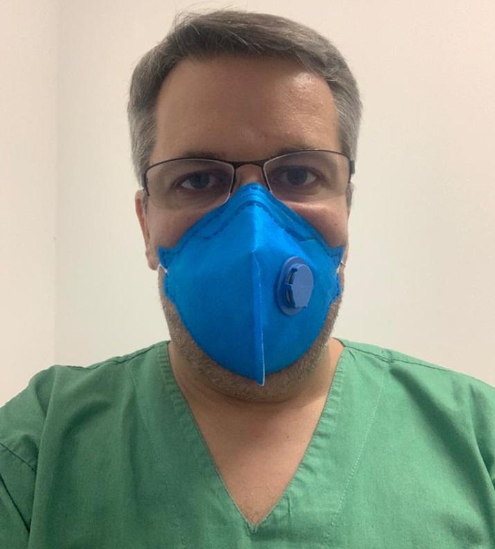 O especialista, Frederico Zago, alerta a população sobre a importância do uso da máscara facial - FOTO: DIVULGAÇÃO