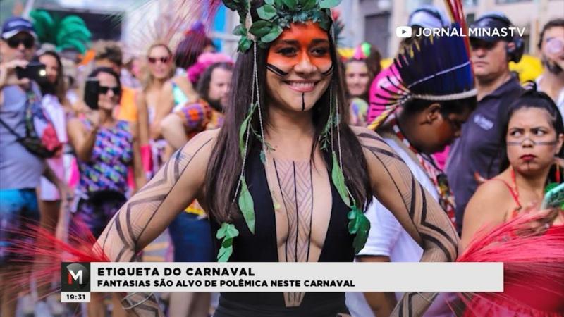 Fantasias são alvo de polêmica no Carnaval