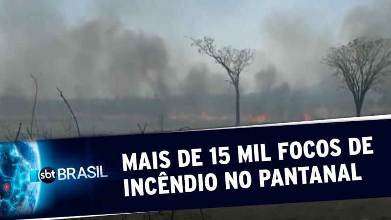 Fumaça de queimadas no Pantanal deve chegar a São Paulo