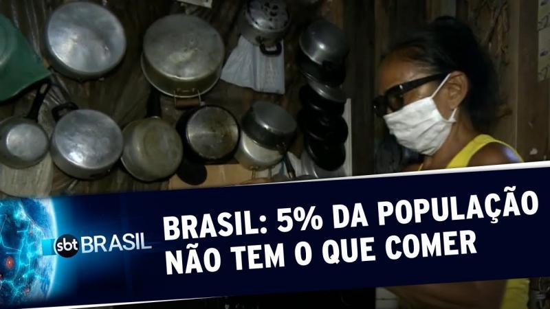 Fome no Brasil: mais de 10 mi de pessoas vivem com pouca ou nenhuma comida