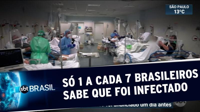 Estudo conclui que 8 milhões de brasileiros contraíram o coronavírus