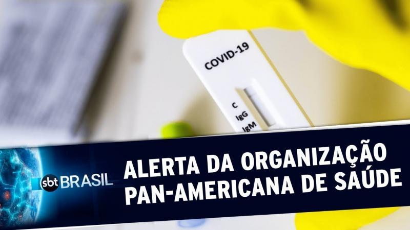 Organização Pan-Americana de Saúde alerta para falta de testes no Brasil