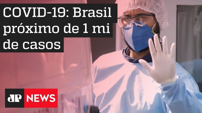 Brasil ultrapassa 955 mil casos de Covid-19