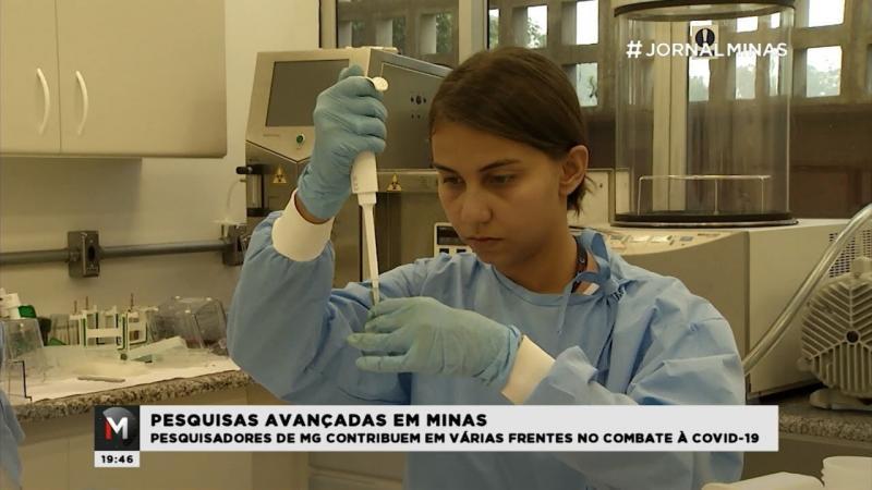 Covid-19: pesquisa para conter a doença avança em Minas