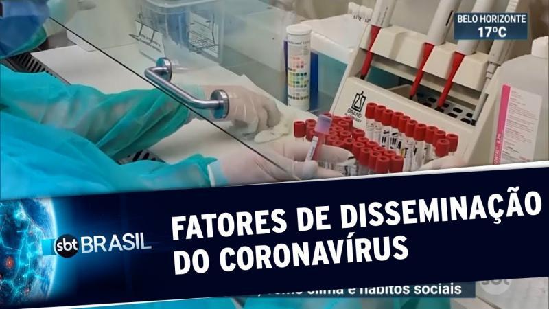 Pesquisadores identificam fatores da propagação do coronavírus
