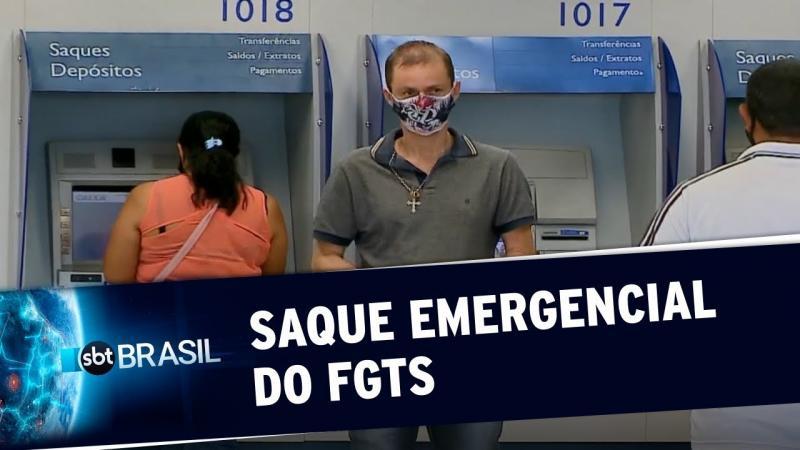 Caixa libera consulta de valor e data do saque emergencial do FGTS