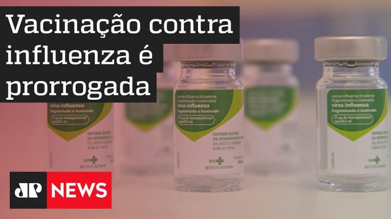 Campanha de vacinação contra a gripe é prorrogada na capital paulista
