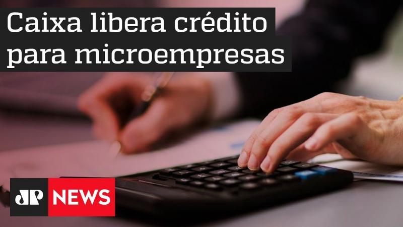 Caixa anuncia liberação de crédito para micro e pequenas empresas em meio à pandemia