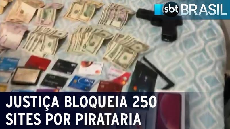Justiça bloqueia mais de 250 sites por pirataria no Brasil