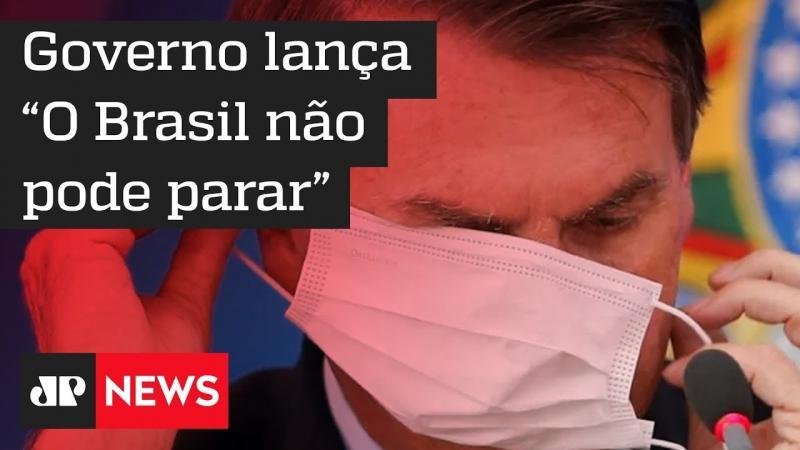 Governo estuda campanha contra quarentena por coronavírus