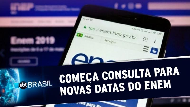 MEC inicia consulta para definição das novas datas do Enem