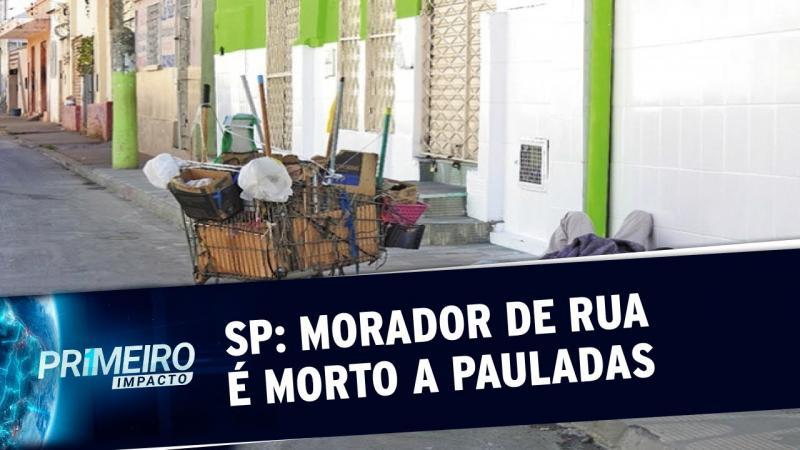 Morador de rua é morto a pauladas após discussão em Diadema