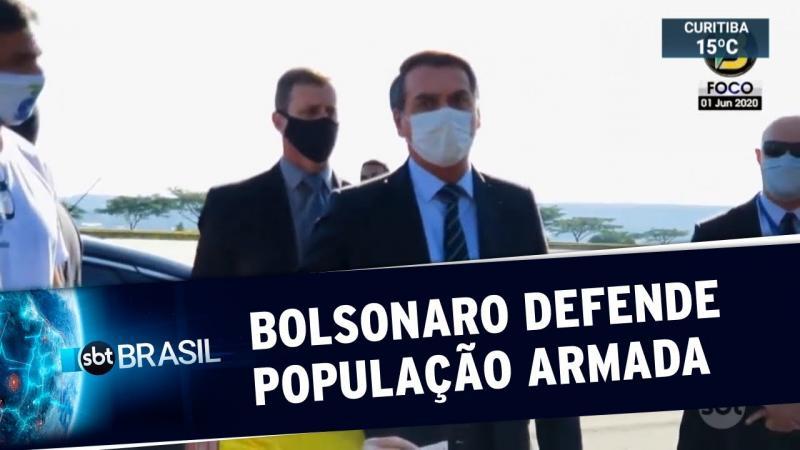 Bolsonaro pede que apoiadores evitem ir às ruas no próximo domingo