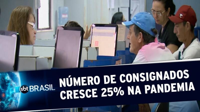 Número de empréstimos consignados cresceu 25% durante a pandemia
