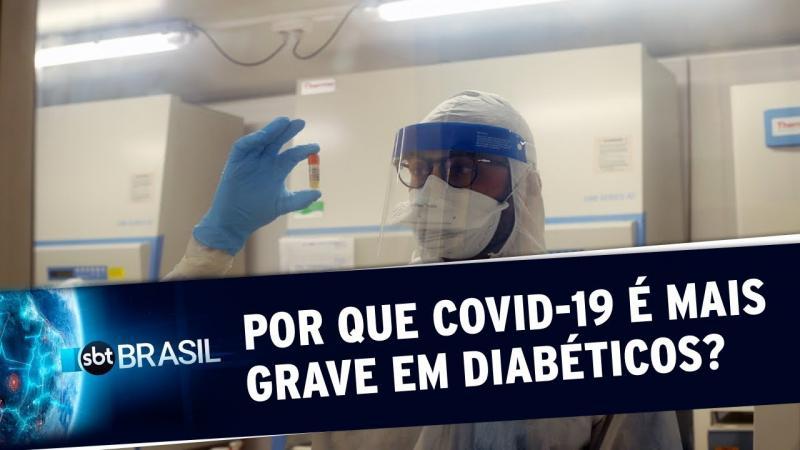 Estudo inédito revela por que Covid-19 pode ser mais grave em diabéticos