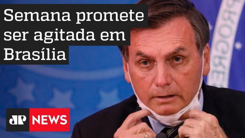 Semana de Bolsonaro promete ser agitada em Brasília
