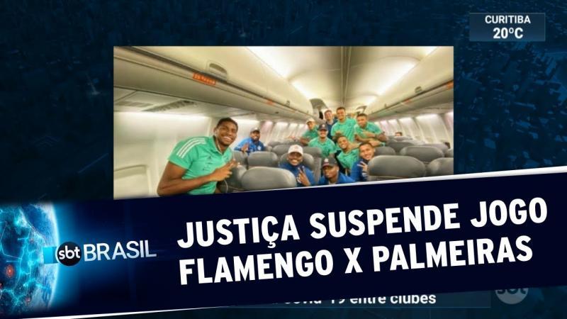 Justiça do Trabalho suspende jogo entre Flamengo e Palmeiras