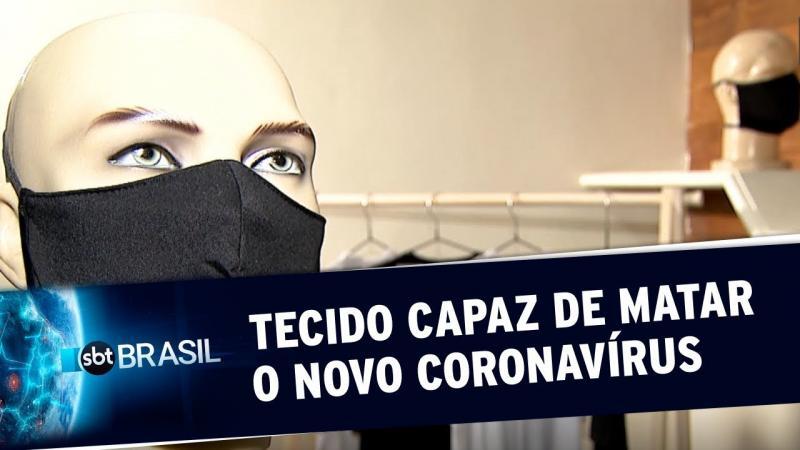 Novo tipo de tecido é capaz de matar o novo coronavírus em até 15 minutos