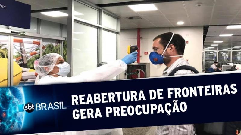 Reabertura de fronteiras preocupa autoridades em saúde