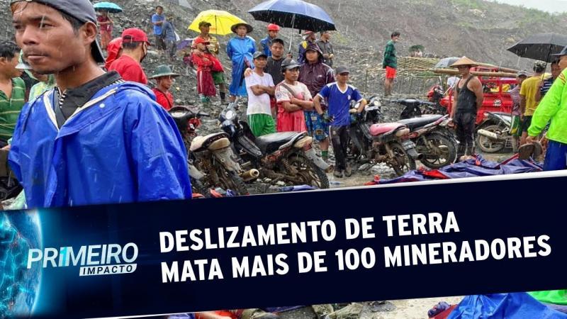 Deslizamento em mina de jade deixa mais de 160 mortos em Mianmar