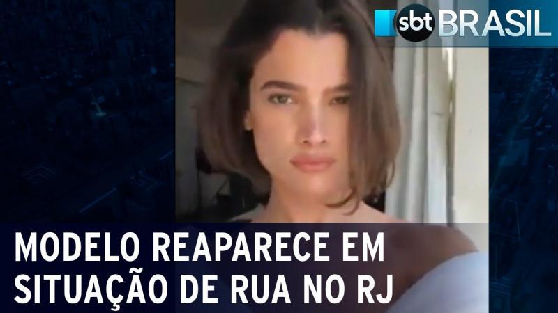 Modelo brasileira é encontrada vivendo em situação de rua no RJ