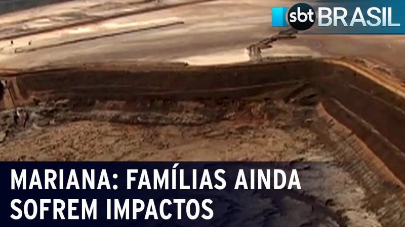 Moradores ainda sofrem impactos ambientais da tragédia de Mariana