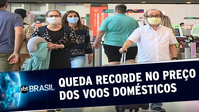 Preço de passagens para voos domésticos tem queda recorde no Brasil