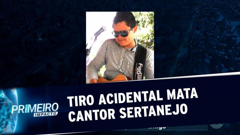 Cantor sertanejo morre após levar tiro acidental de amigo